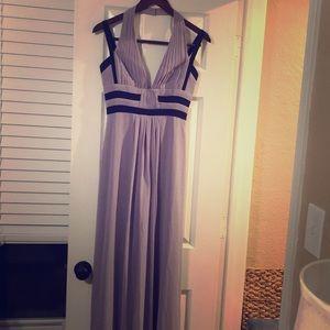 Lila Long Evening Dress